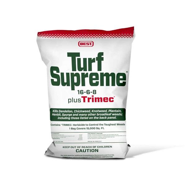 Turf Supreme® 16-6-8 plus Trimec® | Products | Home