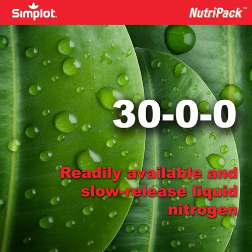30-0-0 Slowly and readily available turf nutrition